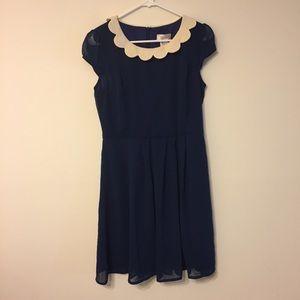 ModCloth Peter Pan Collar Dress